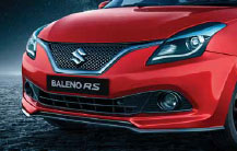 baleno rs front grille
