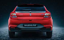 Baleno RS Rear Bumper With Underbody Spoiler
