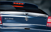baleno Chrome Finish Rear Strip