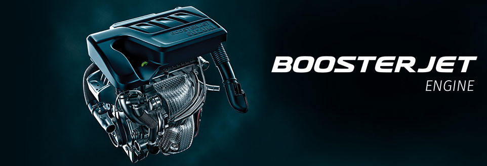 Baleno RS Boosterjet Engine